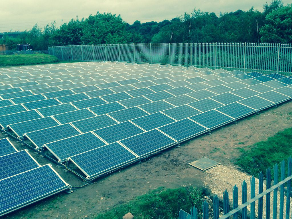 Old Mill Lane Solar PV Install